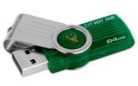 USB Stick KINGSTON DataTraveler 101 gen2 64GB, Green (DT101G2/64GB)
