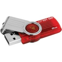 USB Stick KINGSTON 8GB DataTraveler 101 Gen2, Red (DT101G2/8GB)