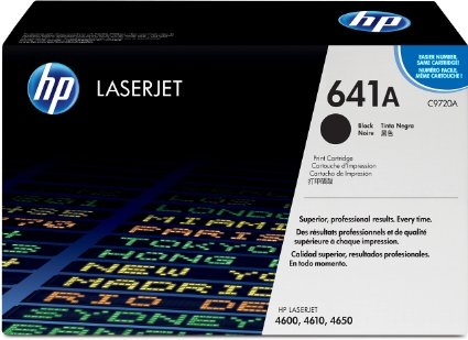 Toner Original pentru HP Negru, compatibil LJ 4600, 4650, 9000pag (C9720A)