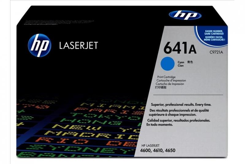 Toner Original pentru HP Cyan, compatibil LJ 4600, 4650, 8000pag (C9721A)
