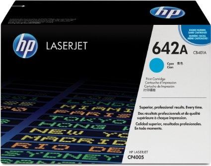 Toner Original pentru HP Cyan, compatibil CP4005, 7500pag (CB401A)