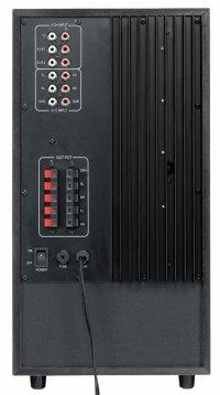 Boxe 5.1 GENIUS 'SW-HF5.1 6000' (31730022101), RMS 200W: 20W x5 sateliti + 100W subwoofer, frecventa 40Hz - 20kHz, raport semnal 80dBa, cu telecomanda wireless si intrare casti, culoare: lemn-cires