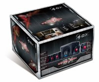 Boxe 5.1 GENIUS 'SW-G5.1 3500 GX Gaming' (31731017100), RMS 80W: 10W x5 sateliti (difuzor 3') + 30W subwoofer (difuzor 6.5'), frecventa 50Hz-20kHz, cu telecomanda, culoare: negru