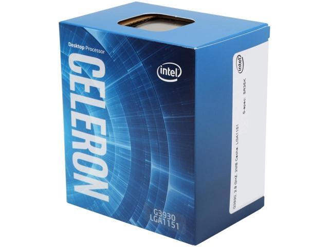 CPU INTEL skt. 1151   CELERON dual core G3930, 2C, 2.8GHz, 2MB  BOX 'BX80677G3930