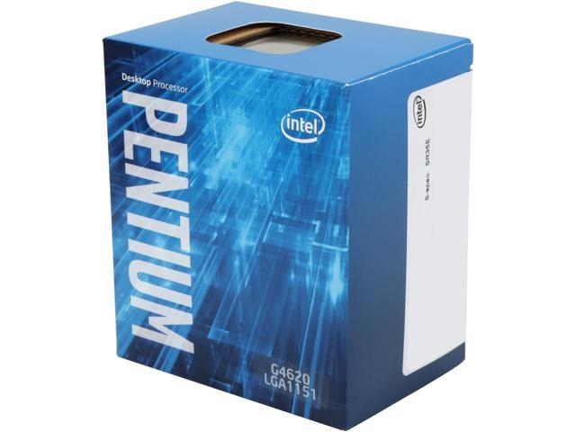 CPU INTEL skt. 1151   PENTIUM dual core G4620, 2C, 3.7GHz, 3MB   'BX80677G4620
