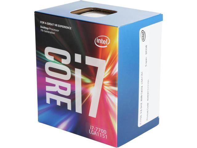 CPU INTEL skt. 1151  Core i7 Ci7-7700,  3.6GHz, 8MB   'BX80677I77700'
