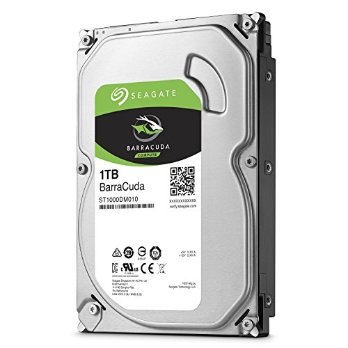 HDD  1TB 7200 64M S-ATA3 'Barracuda' SEAGATE (ST1000DM010)