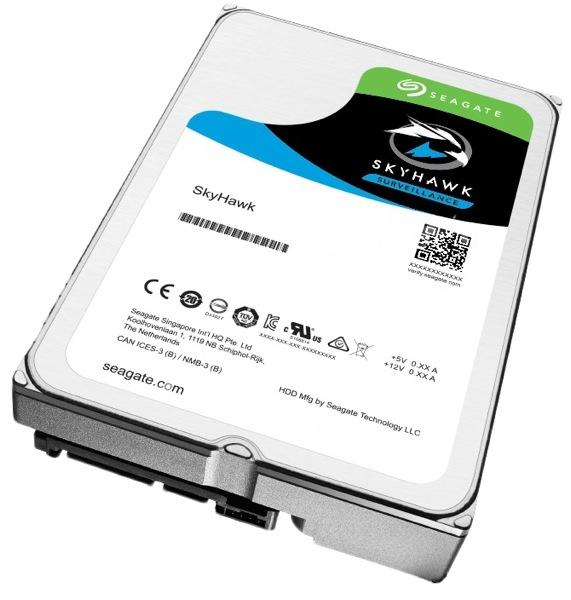 HDD  2TB 5900 64M S-ATA3 'SkyHawk' SEAGATE (ST2000VX008)