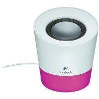 BOXE Logitech 1.0 Z50, RMS power: 5 W, Pink (980-000805)