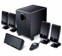 Boxe 5.1 EDIFIER (M1550), RMS 10W-30W, 4 sateliti x3W + 1 satelit x4W + subwoofer de 10W, raport semnal >85dBA, telecomanda pe fir cu intrare casti, culoare: negru