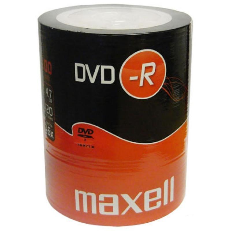 DVD-R 4.7GB 16x 100buc Maxell (DVD-R-4.7GB-16X-SHR100-MXL)