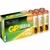 BATERIE AA (R6) ultraalcalina 16 buc/cutie  GP (GP15AU-BOX16)