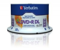DVD+R Verbatim DL 8X 8.5GB 50PK SPINDLE PRINTABLE (97693)