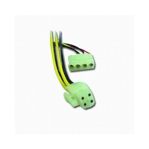Spliter Cablu Alimentare HDD la conector ATX, adaptor intern, GEMBIRD (CC-PSU-4)