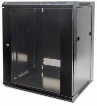 Cabinet 19'  fixare pe perete, Flatpack, Intellinet9U, Black, 500 (h) x 570 (w) x 600 (d) mm (711791)
