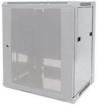 Cabinet 19'  fixare pe perete, Flatpack, Intellinet9U, Grey, 500 (h) x 570 (w) x 600 (d) mm (711807)