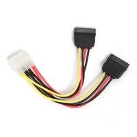 Cablu Alimentare 1 x 5.25' Molex mama la 2 x SATA 30cm GEMBIRD (CC-SATA-PSY-0.3M)