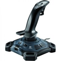 Joystick Logitech Attack 3, 11 butoane programabile, PC USB 2.0
