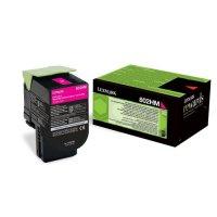 Toner Original pentru Lexmark Magenta 802HM, compatibil CX310/410/510, 3000pag (80C2HM0)