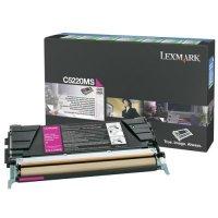 Toner Original pentru Lexmark Magenta, compatibil C522/524/530/532/534, 3000pag (C5220MS)