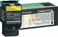Toner Original pentru Lexmark Yellow, compatibil C540/543/544/X543/544, 1000pag (C540A1YG)