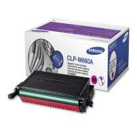 Toner Original pentru Samsung Magenta, compatibil CLP-610ND/660, 2000pag (CLP-M660A/ELS)