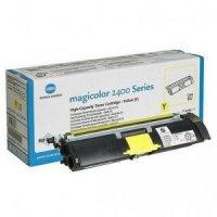 Toner Original pentru Konica-Minolta Yellow, compatibil MagiColor 2400/2430/2450/2500/2530/2550/2480/2490, 4500pag (A00W132)