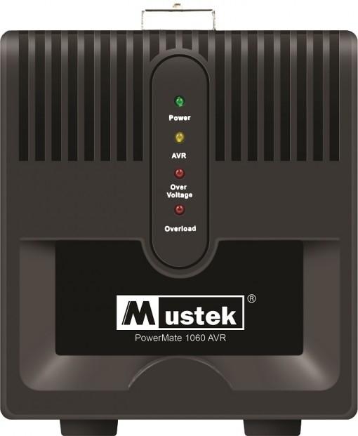 AVR MUSTEK PowerMate 1060 (1000VA), Schuko - Voltage regulating (98-AVR-1060)