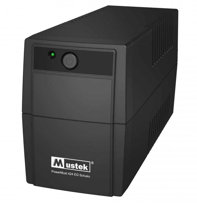 UPS  MUSTEK PowerMust  424EG (450VA) Line Interactive, Schuko (98-LIC-G0424)