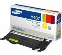 Toner compatibil Samsung CLP320, CLP325, CLX3180, CLX3185, galben, 1000p