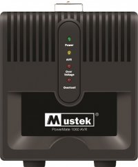 AVR MUSTEK PowerMate 1060 (1000VA), Schuko - Voltage regulating (98-AVR-1060)