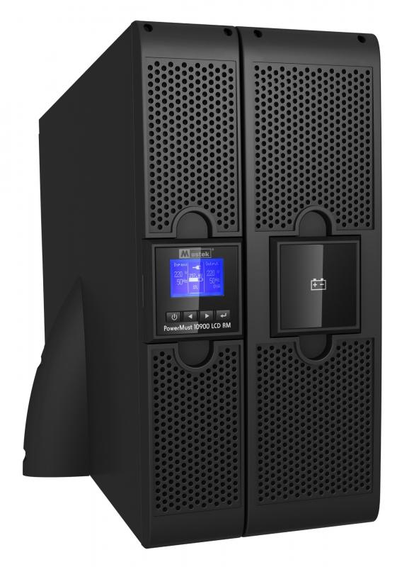 UPS MUSTEK. PowerMust 10900 online LCD (10KVA) RM, IEC (98-ONC-R10900)