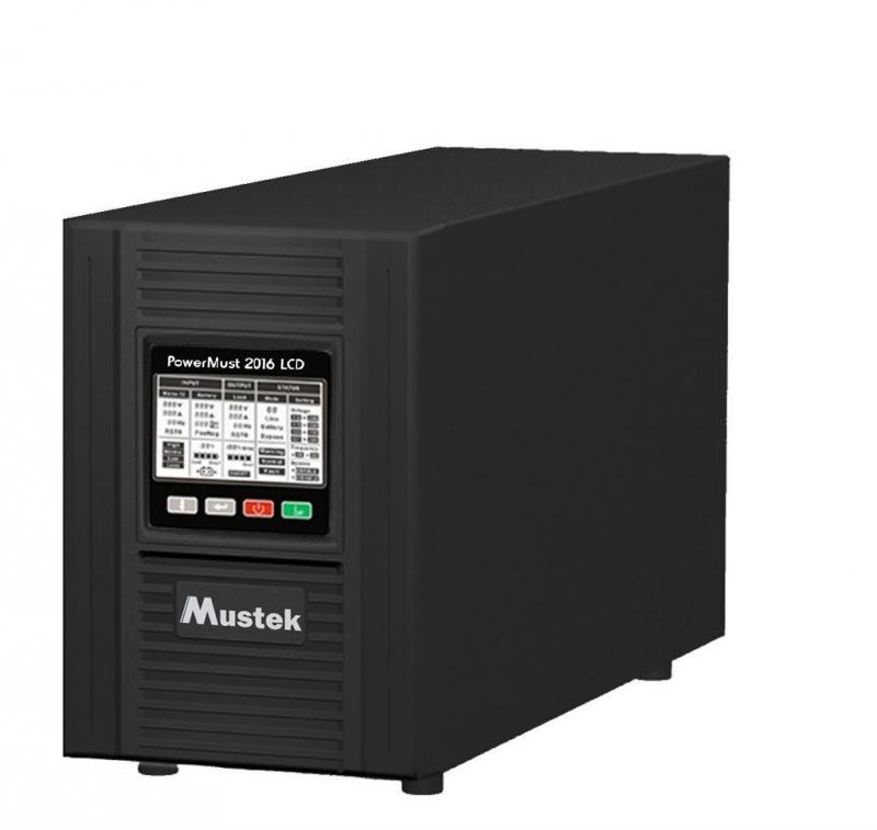 UPS MUSTEK PowerMust  2016 online LCD (2KVA), IEC (98-ONC-X2016)