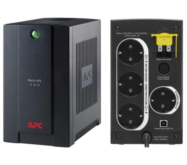 UPS APC Back-UPS BX  700VA  (BX700U-GR)
