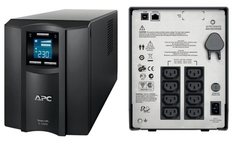 UPS APC Back-UPS. C. 1500VA (SMC1500I)