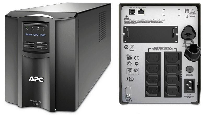 UPS APC Back-UPS. SMT. 1000VA (SMT1000I)