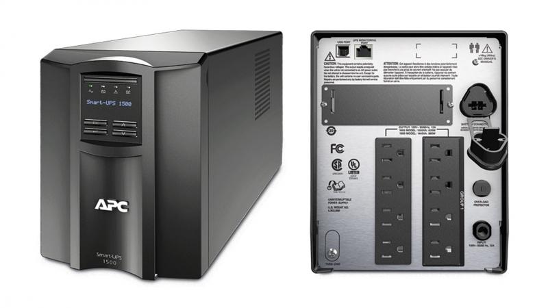 UPS APC Back-UPS. SMT. 1500VA (SMT1500I)