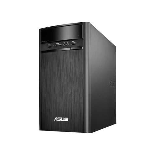 Desktop Asus  K31CD-RO019D | Procesor Intel Core i3- 6100 ,3.7 GHz | Capacitate memorie 4 GB DDR4, 2133 MHz | Capacitate HDD 1000 GB | Viteza HDD 7200 RPM | Tip unitate optica SuperMulti DVD RW | LAN 10/100/1000 Mbit/s | 2 x 2 x USB 2.0 | 4 x 4 x USB 3.0