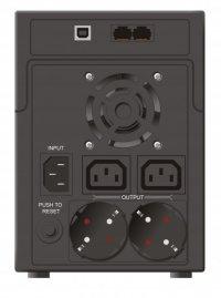 UPS  MUSTEK PowerMust 1590 (1500VA) Line Interactive, IEC/Schuko (98-LIC-L1590)