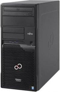 Fujitsu PRIMERGY TX1310M1 LFF - Tower Mono Socket - 1 x Intel Xeon E3-1226v3 (4C/4T, 3.30 GHz, 8 MB, 5 GT/s, 84W), 8GB (1x8GB) PC3-12800 ECC DDR3 1600MHz UDIMM max. 4 DIMM sockets, 2 x HDD SATA 6G 1 TB 3.5'', max. 4 SATA 3.5', RAID onboard  0,1,10, DVD-RW