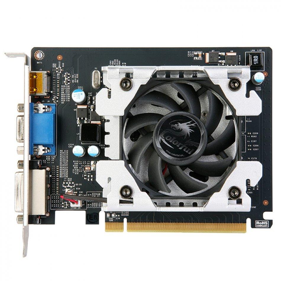 VGA GF PCI-E3.0 GT730 1024MB DDR3 64B COLORFUL (N730-103-N0S)