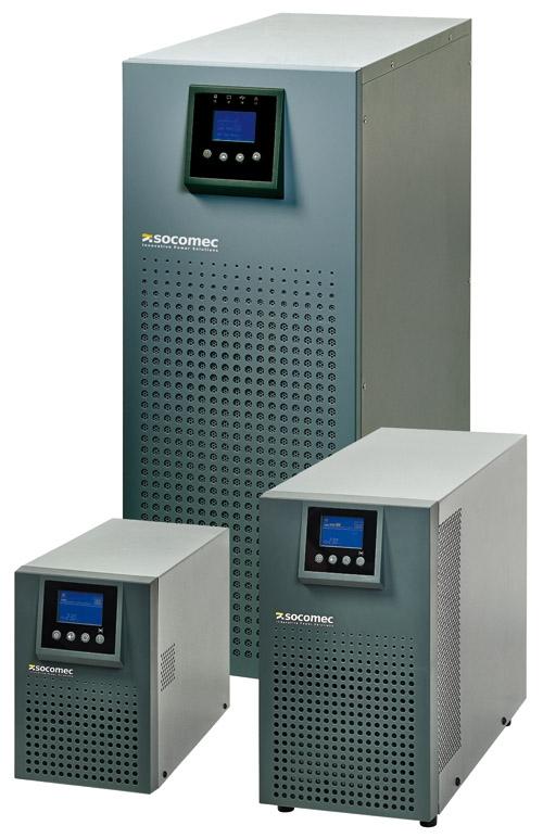 UPS SOCOMEC ITYS 6000VA, 5400W, Online dubla conversie, charger fara acumulator (ITY2-TW060LB)