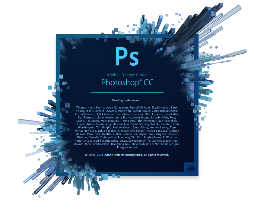Adobe Photoshop CC, WIN/MAC, English, Licensing Subscription, 1 User, 1 Year