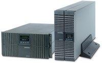 UPS SOCOMEC Netys RT 5000VA (NRT2-5000K), online de 5000VA si 4500W, backup 8min, online dubla conversie cu bypass automat, semnal sinusoidal, rack mount; timp incarcare: 4 ore, tensiune iesire selectabila: 230V +/-2%, 50/60Hz, cu display LCD, Gri