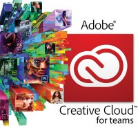 Adobe CC for Teams, WIN/MAC, English,  Licensing Subscription, 1 User, 1 Year
