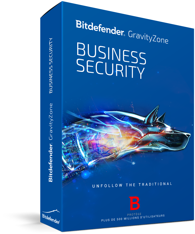 Bitdefender GravityZone Advanced Business Security 25 - 49 nods 1 year Licenta noua (acopera un nod)