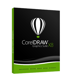 CorelDRAW Graphics Suite X8 Upgrade BOX