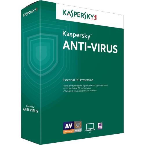 Kaspersky Anti-Virus Eastern Europe Edition. 3-Desktop 15 months Renewal BOX