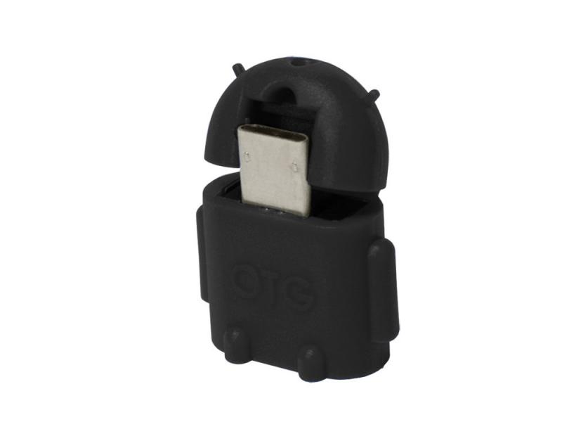 Adaptor OTG micro-USB la USB, (T/M), black, Logilink (AA0062)