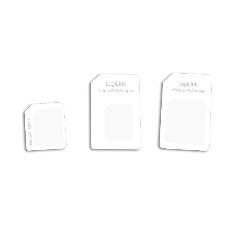 Adaptor SIM (nano-micro/nano-standard/micro-standard) Logilink (AA0047)